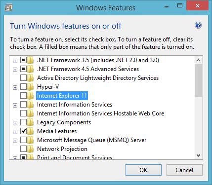 windows 8.1 remove boxes