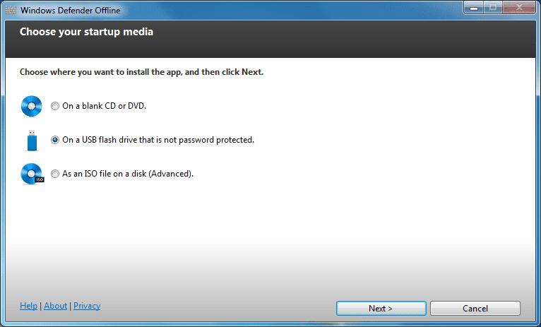 download windows defender offline windows 7 32 bit