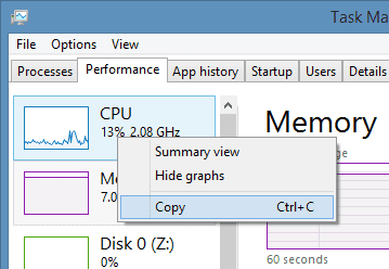 Task Manager - Performance Copy