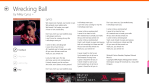 MusiXmatch 5 - The Best Music Lyrics Player on Windows Phone and Windows 8 Tablets