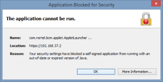 Java - application can not run