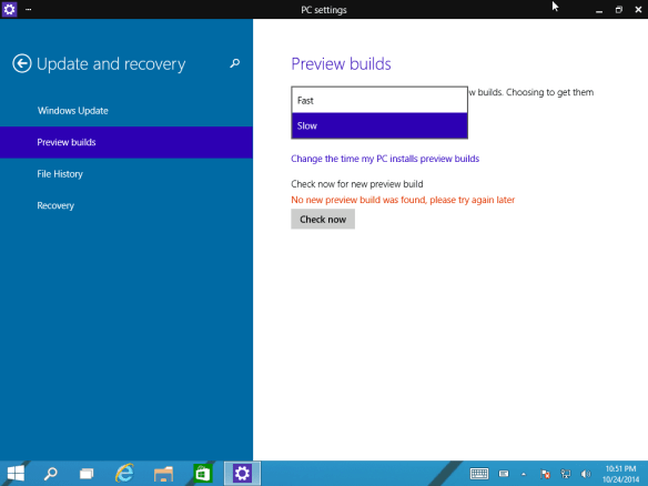 Windows 10 Preview Build Often