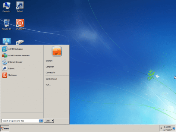 PE Builder - desktop
