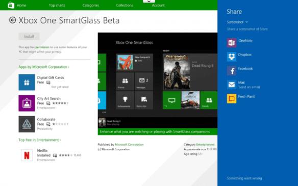 Windows 8.1 Tablet Screenshots