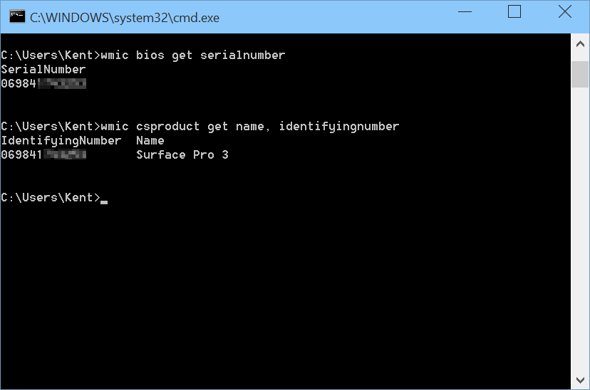 get bios serial number powershell