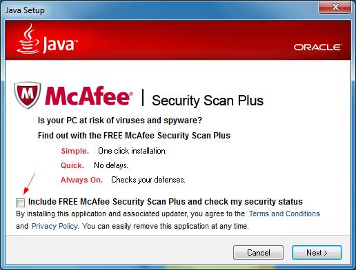 Java installation