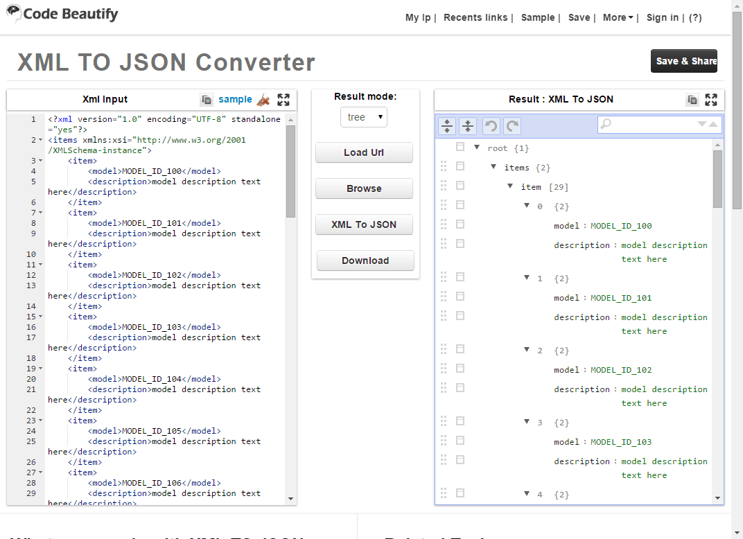 json file conversion to excel free download