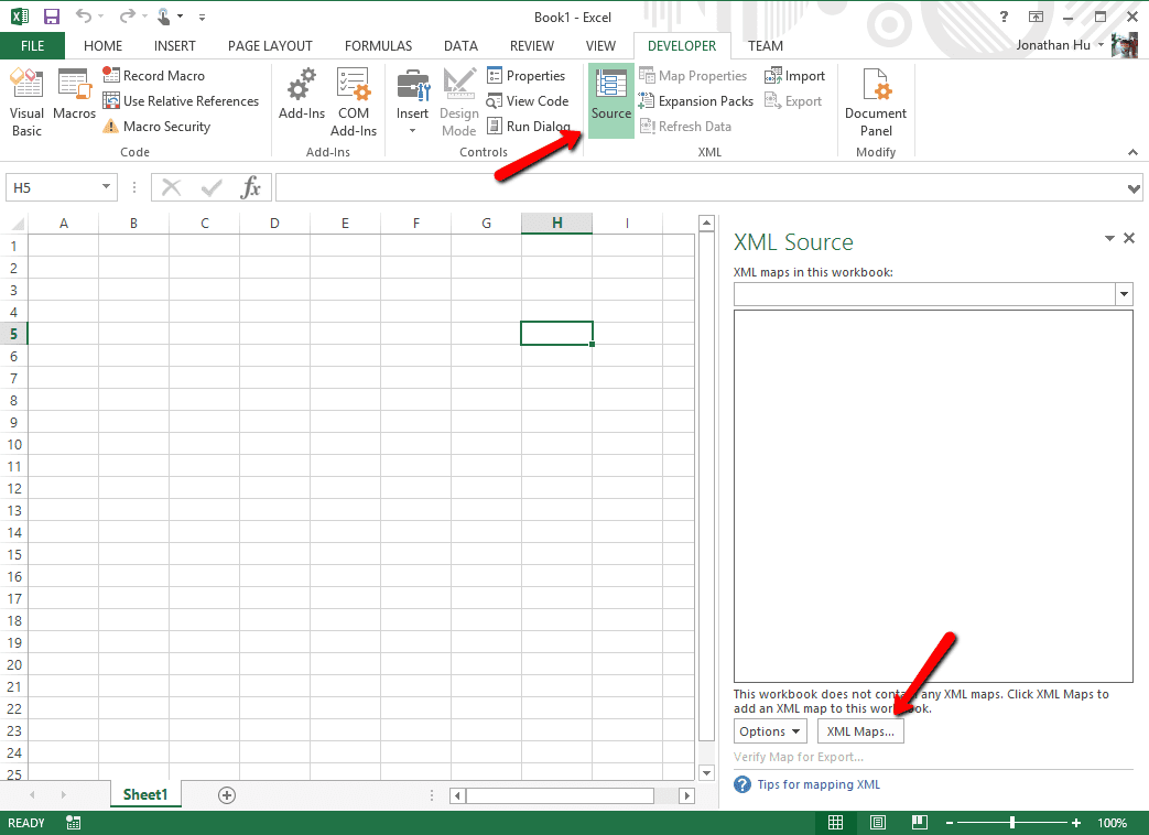 how to convert excel spreadsheet to json next of windows