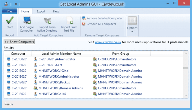 Get Local Admins GUI - Cjwdev.co.uk - 2015-03-24 16_56_01
