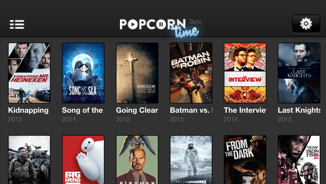 popcorn time su ipad
