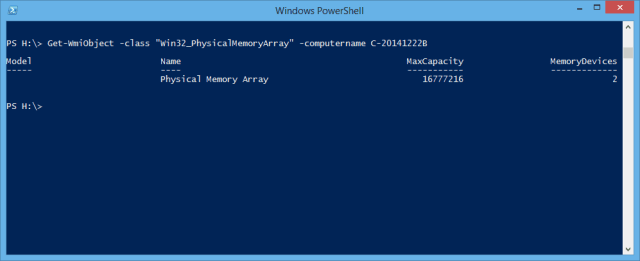 PowerShell - total slot remote computer