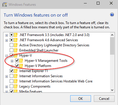How To Enable or Disable and Configure  Use Hyper-V on Windows 10