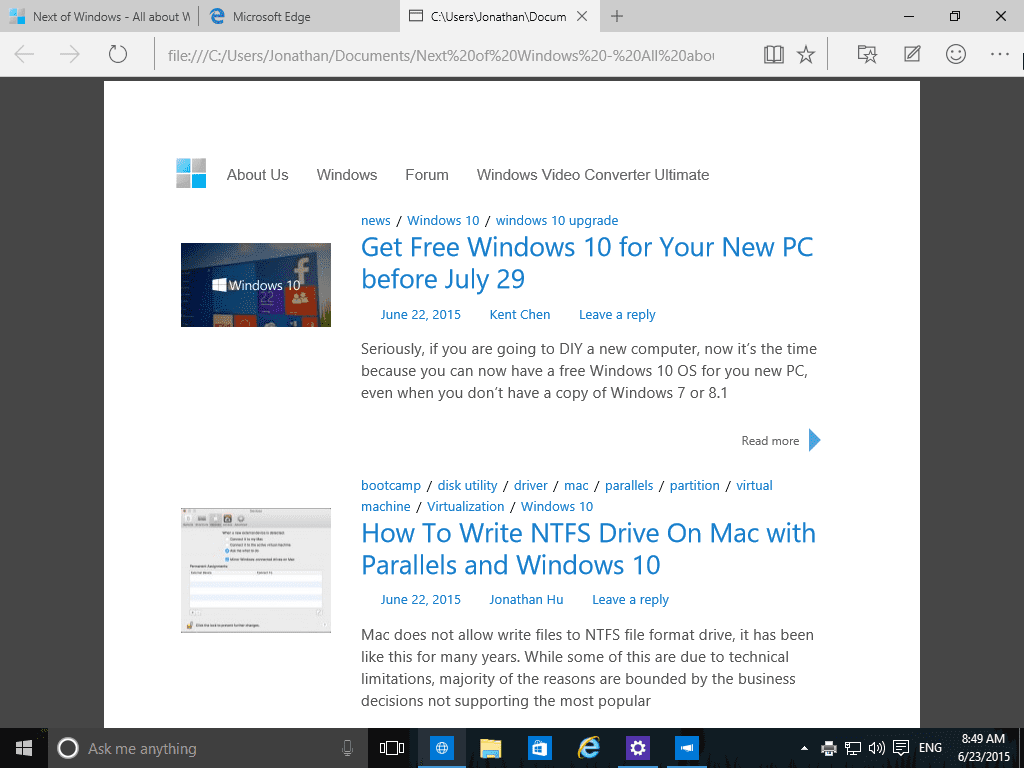 Pdf Microsoft Edge
