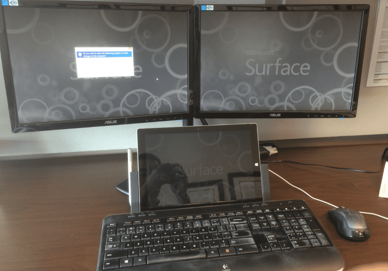How to setup dual monitors windows 8.1