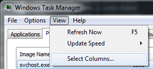 Task Manager Add Columns