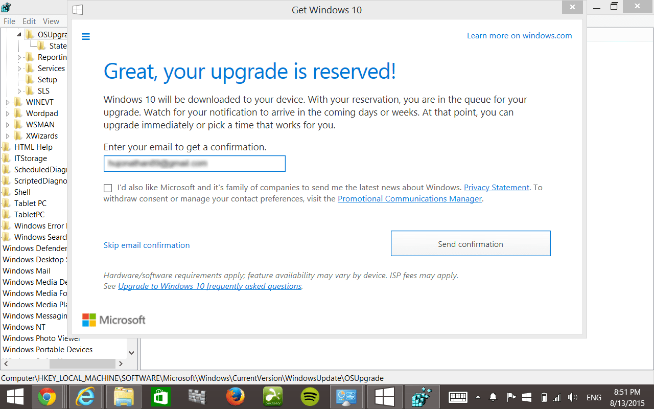 hp upgrade assistant