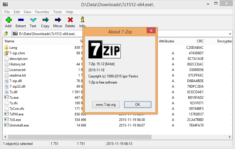 7 Zip Windows