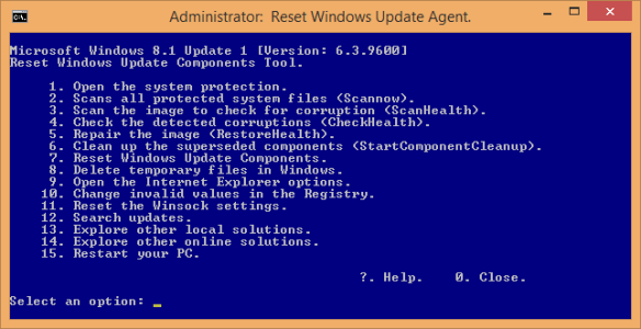 Administrator_ Reset Windows Update Agent. - 2015-11-27 23_28_58