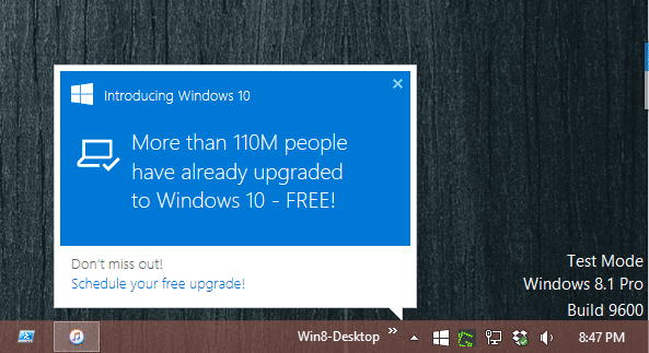 how to prevent windows 10 upgrade prompts from popping up next of