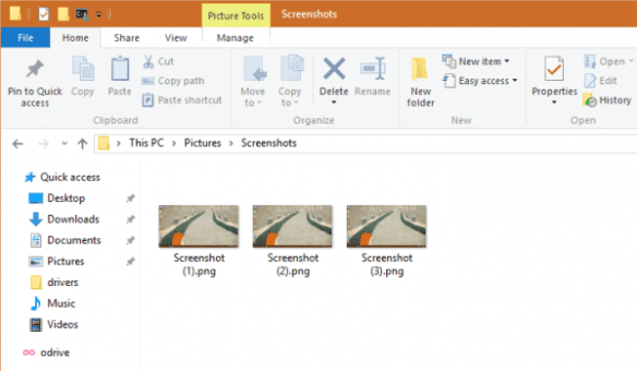 Screenshot autonumbering