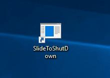 SlideToShutDown shortcut