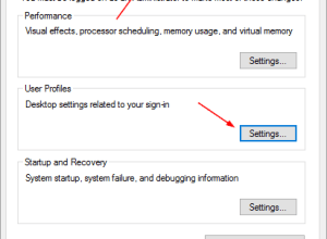 how to delete a profile from microsoft windows