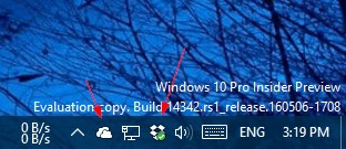 Windows 10 - Dropbox and OneDrive on Taskbar