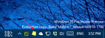 Stickies on the taskbar