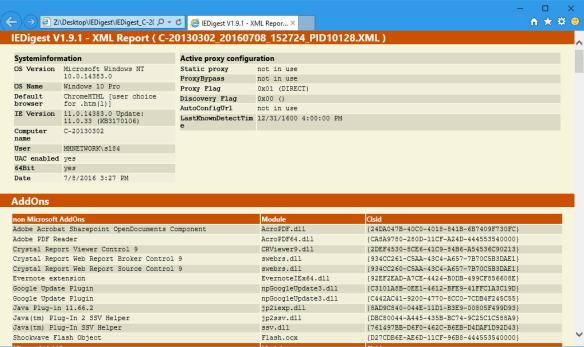 IEDigest V1.9.1 - XML Report ( C-20130302_20160708_152724_PID10128.XML ) - Inter