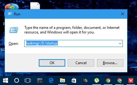 windows 10 task manager startup folder