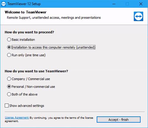 teamviewer-installation