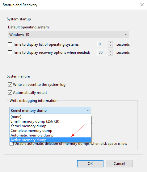Windows 10 Active memory dump - Windows 10 Tip: What is Active Memory Dump