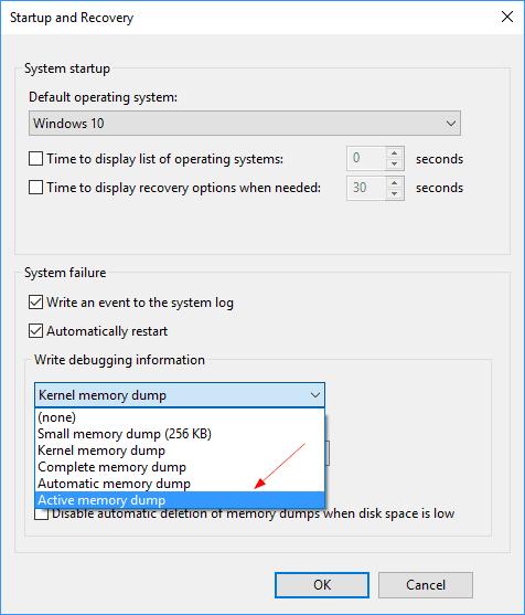 Windows 10 Active memory dump - Windows 10 Tip: What is Active Memory Dump