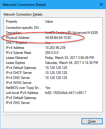 Control Panel Network MAC - 4 Ways to Find Out MAC Address on Your Windows Computer