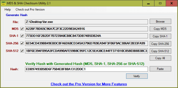 5 Ways to Generate and Verify MD5 SHA Checksum of Any File ...