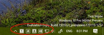 Windows 10 Tip: How To Check Keyboard Keys Status on Taskbar - Next