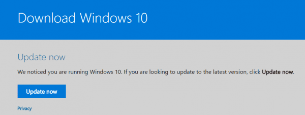 Windows 10 Upgrade Assistant 600x227 - Windows 10 Fall Creators Update Download Resources and Options