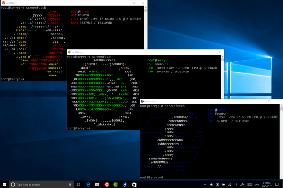 BashScreenshot Ubuntu openSUSE Fedora Build 345987 600x400 - What are the New Features Coming From Windows 10 Fall Creators Update