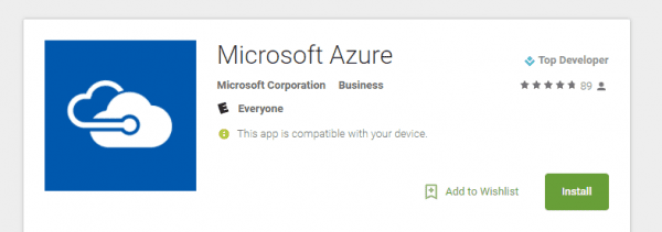 Microsoft Azure Android Apps on Google Play 600x211 - Microsoft Azure App Released for iOS and Android