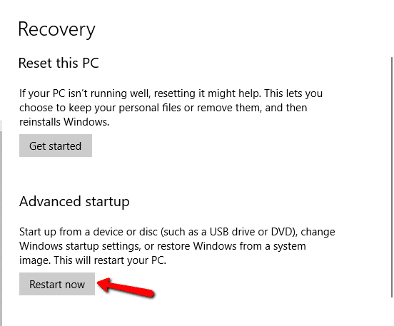 "2017 06 04 1550 - How To Bypass ""we can't reset your PC while it's running on battery power"""