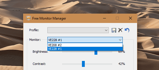 Free Monitor Manager Multiple Monitors - Control Basic Monitor Settings with This Free Monitor Manager