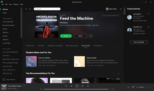 Spotify on Windows 10 - Welcome to Windows 10, Spotify, as A Windows Store App