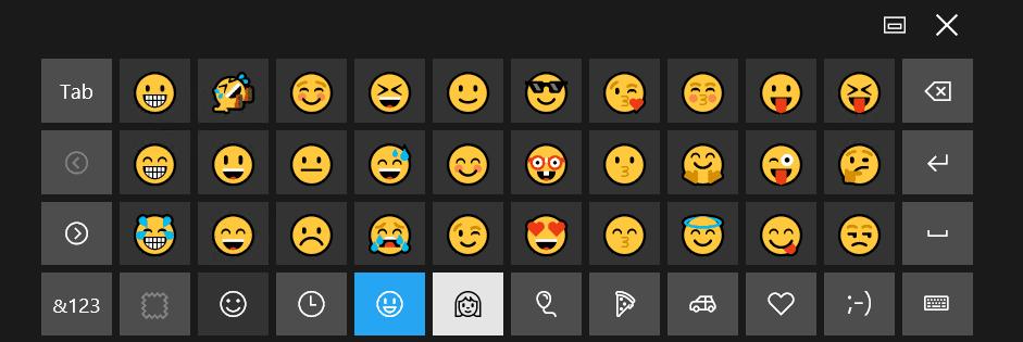 how to add emoji to windows keyboard