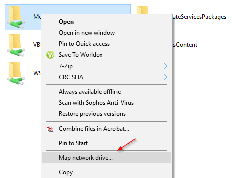 Windows 10 Map network drive from context menu - 3 Ways to Map Network Drive in Windows 10