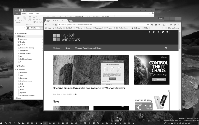 Windows 10 color filters desktop - Windows 10 Tip: How To Turn On Color Filters to Grayscale Your Whole Desktop