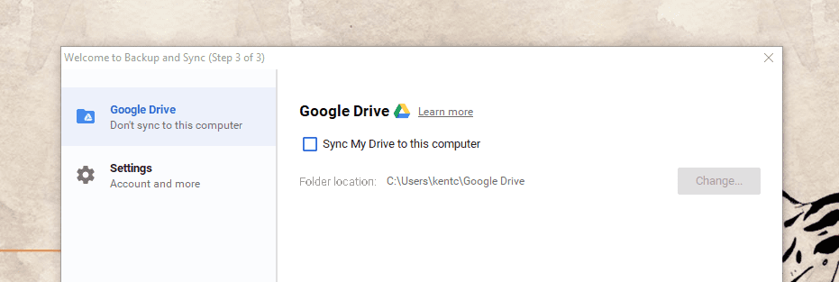 Google Backup Sync Advanced Settings - Google Backup and Sync Released for Both Windows and Mac