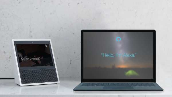 Cortana Alexa 600x338 - Microsoft partner with Amazon: Cortana meets Alexa