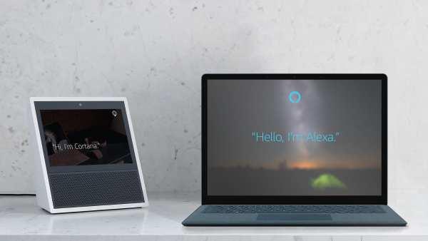 Cortana Alexa 600x338 - Microsoft partner with Amazon: Cortana meets Alexa