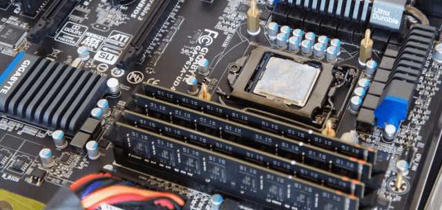 Memory Motherboard splash