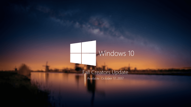 Windows 10 Fall Creators Update Splash - The List of New Features in Windows 10 Fall Creators Update